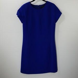 J. Crew Royal Blue Shift Dress Size 2
